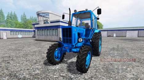 MTZ-82 [blue] for Farming Simulator 2015