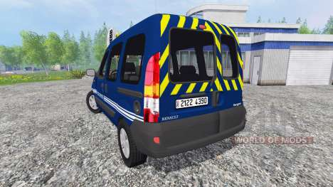 Renault Kangoo Gendarmerie for Farming Simulator 2015