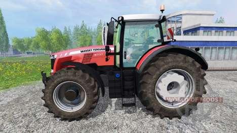 Massey Ferguson 8737 v1.1 for Farming Simulator 2015