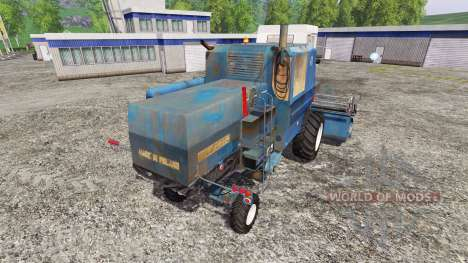 Bizon Z056 [blue] for Farming Simulator 2015
