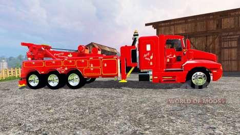 Kenworth T600B [wrecker] for Farming Simulator 2015