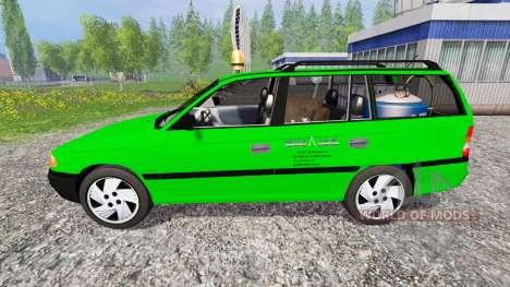 Opel Astra F Caravan [Deutz-Fahr service] for Farming Simulator 2015