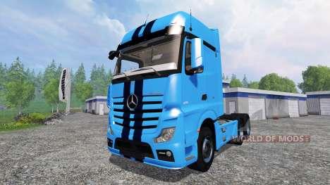 Mercedes-Benz Actros 2014 v2.0 for Farming Simulator 2015