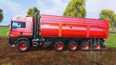 MAN TGS 10x8 v1.2 for Farming Simulator 2015