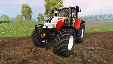Steyr CVT 6195 for Farming Simulator 2015