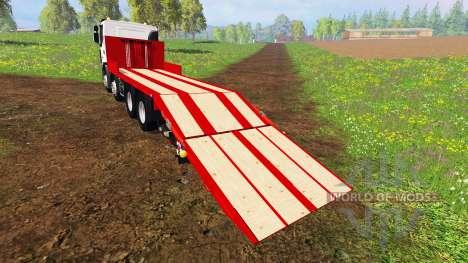 Renault Lander [plateau] for Farming Simulator 2015