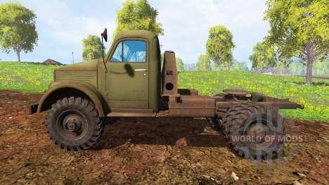 The GAZ-63 for Farming Simulator 2015