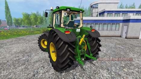 John Deere 7920 v1.1 for Farming Simulator 2015