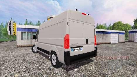 Peugeot Boxer for Farming Simulator 2015