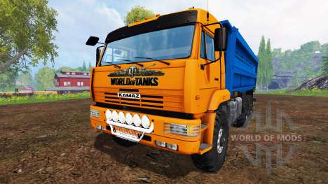 KamAZ-45143 [pack] v1.1 for Farming Simulator 2015