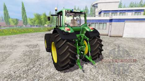John Deere 7530 Premium v2.1 for Farming Simulator 2015