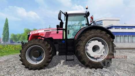 Massey Ferguson 8737 v1.0 for Farming Simulator 2015