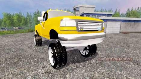 Ford F-150 v1.0 for Farming Simulator 2015