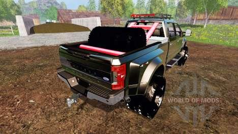 Ford F-450 2017 [custom][fix] for Farming Simulator 2015
