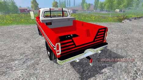 Ford F-250 1972 for Farming Simulator 2015
