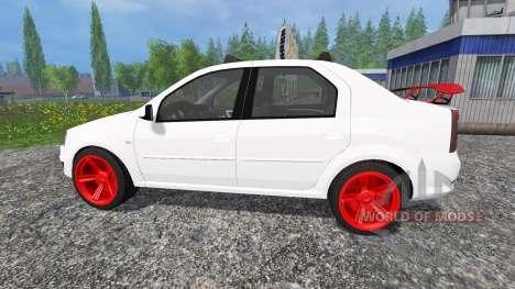 Dacia Logan v8.0 for Farming Simulator 2015
