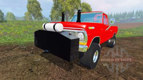 Ford F-100 [highboypuller] for Farming Simulator 2015