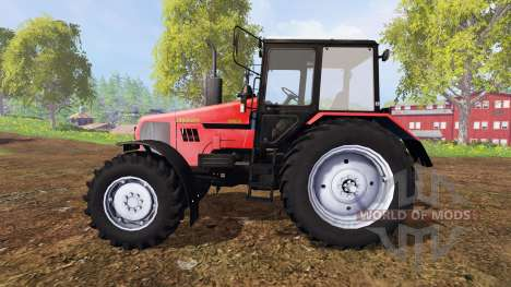 Belarus-1221.2 v2.0 [red] for Farming Simulator 2015