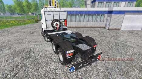 MAN TGS [heavy haulage] for Farming Simulator 2015