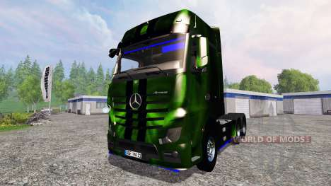 Mercedes-Benz Actros MP4 NOS Hardcore for Farming Simulator 2015
