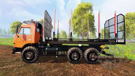 KamAZ-45143 [timber] for Farming Simulator 2015