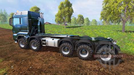 MAN TGS [container truck] v1.6.3 for Farming Simulator 2015