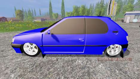 Peugeot 306 for Farming Simulator 2015