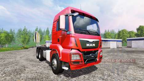 MAN TGS 18.440 6x4 for Farming Simulator 2015