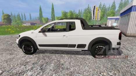 Volkswagen Saveiro G6 for Farming Simulator 2015