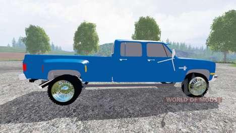 Chevrolet Silverado 1984 [dually] for Farming Simulator 2015