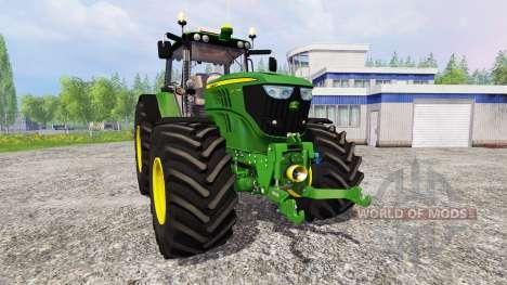 John Deere 6170M v1.0 for Farming Simulator 2015