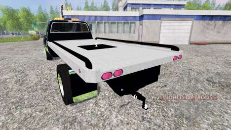 GMC 3500 1986 [flatbed] for Farming Simulator 2015