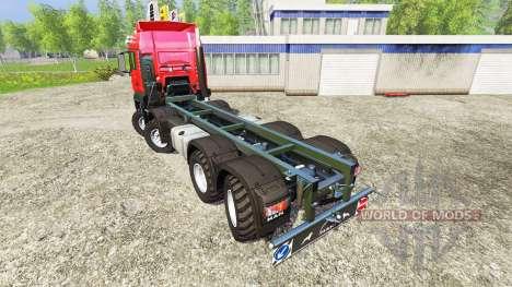 MAN TGS 41.480 8x8 v6.0 for Farming Simulator 2015