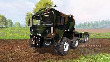 MAN KAT2 WLF for Farming Simulator 2015