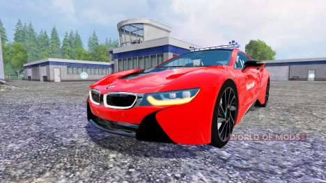 BMW i8 eDrive Feuerwehr for Farming Simulator 2015