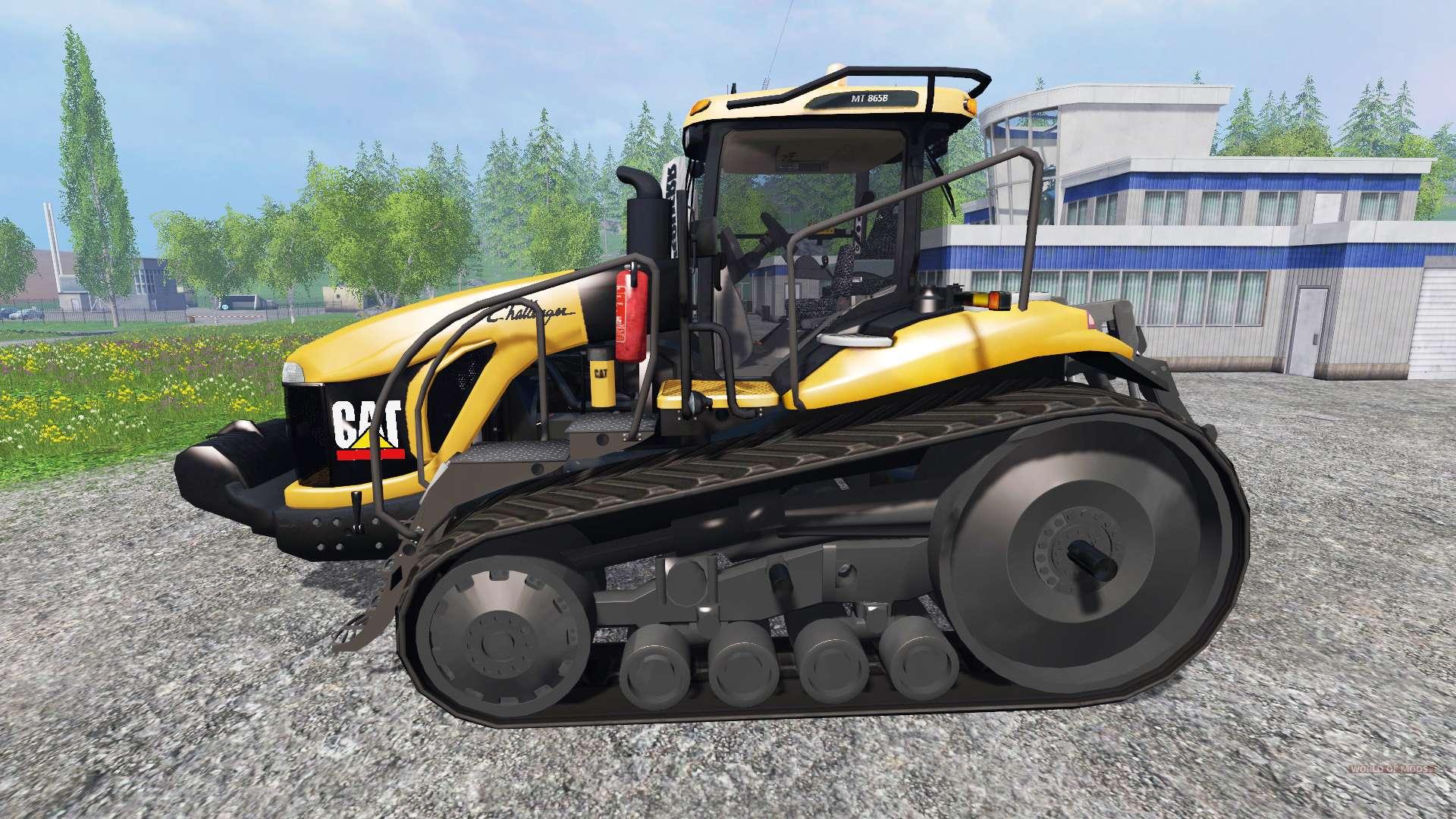 Caterpillar Challenger Mt865b V1 2 For Farming Simulator 2015