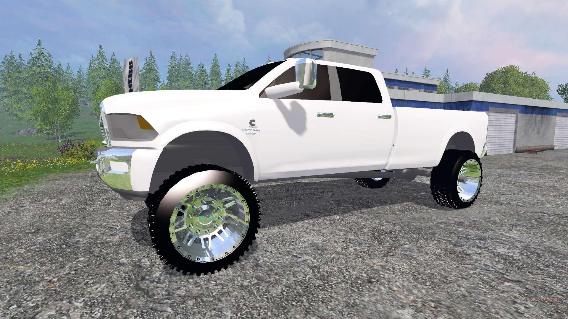 Dodge Ram 3500 2015 Crew Cab for Farming Simulator 2015