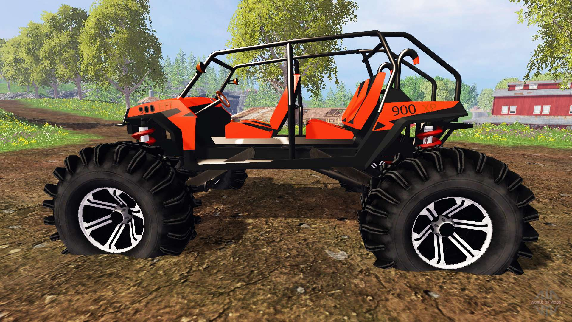 polaris rzr xp 1000 for farming simulator 2015. Black Bedroom Furniture Sets. Home Design Ideas