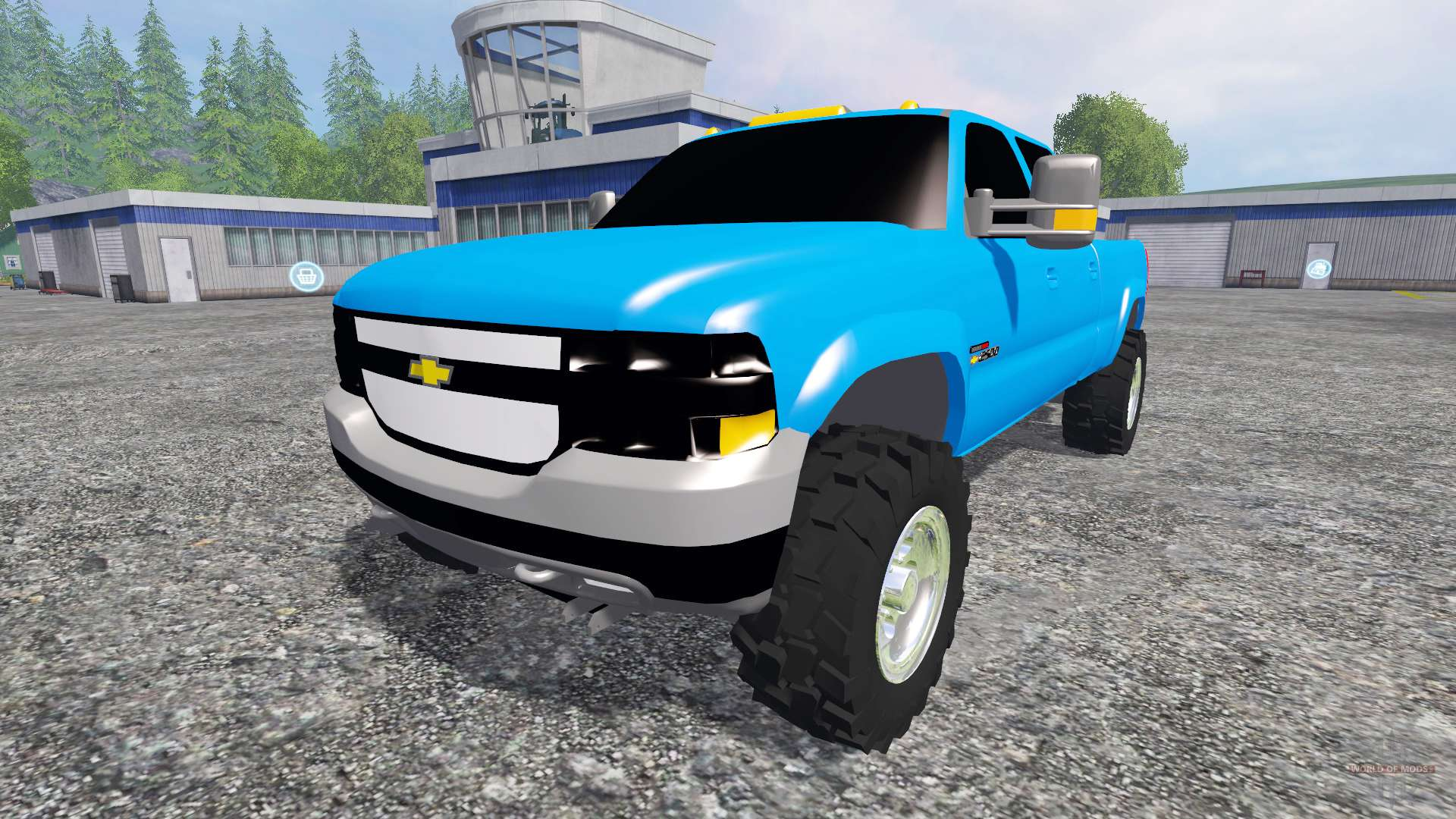 chevrolet silverado 2001 for farming simulator 2015. Black Bedroom Furniture Sets. Home Design Ideas