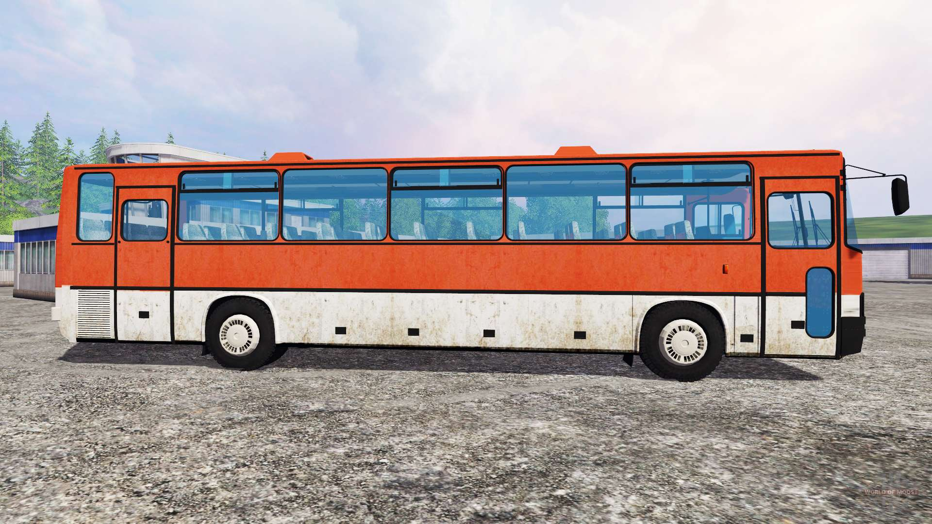 Ikarus 250 for farming simulator 2015 for Ikarus