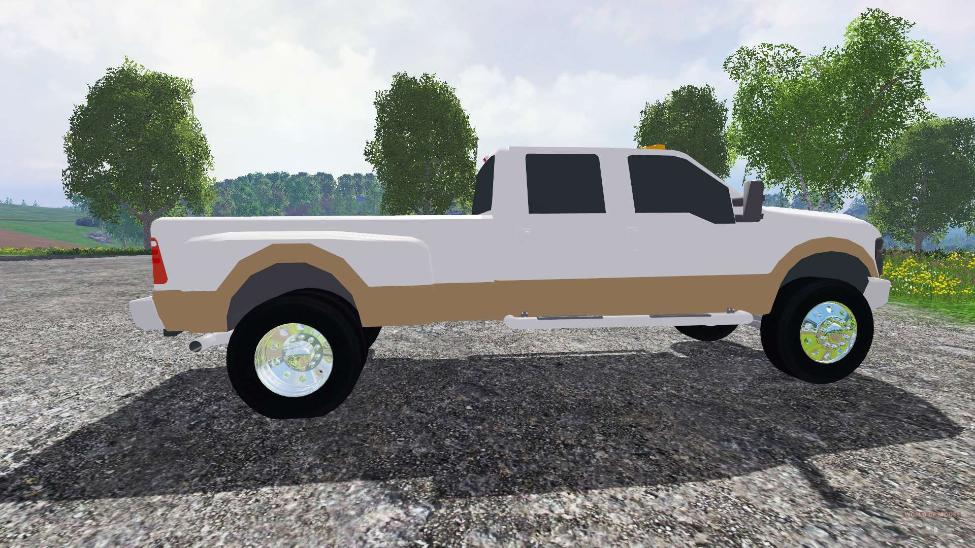 Ford F 350 2009 King Ranch For Farming Simulator 2015 1969 250 Flatbed