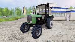 MTZ-82.1 Belarus [green] for Farming Simulator 2015