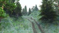 Treacherous mountains for Spin Tires