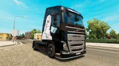 Infinite Stratos skin for Volvo truck for Euro Truck Simulator 2