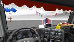 The new interior is from Iveco trucks for Euro Truck Simulator 2
