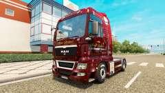 Christmas skin for MAN truck for Euro Truck Simulator 2