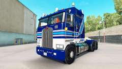 California Wine skin for Kenworth K100 truck for American Truck Simulator