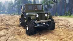 Jeep Willys 1963 for Spin Tires