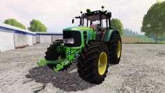 John Deere 7530 Premium v2.1 for Farming Simulator 2015