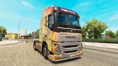 Skin on the Nebula Grunge Volvo trucks for Euro Truck Simulator 2
